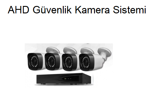 AHD Güvenlik Kamera Sistemi