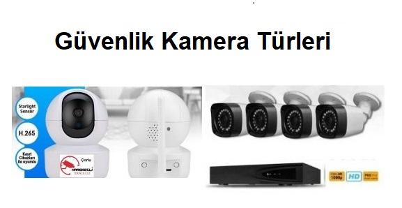 Güvenlik Kamera Türleri