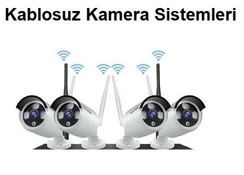 Kablosuz Güvenlik Kamera Sistemleri